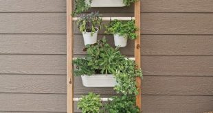 Clever Vertical Herb Gardens That Will Grow a LOT of Herbs in a Small Space!
