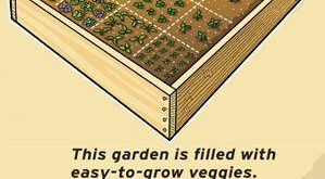 DIY: Compact Garden Frame Directions, Even How-To Set It On Saw-Horses for Whee...