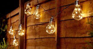 Solar Clear Bulb Festoon Lights