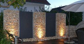 Außendekoration: 25 erstaunliche Steinzäune, alles blendend!