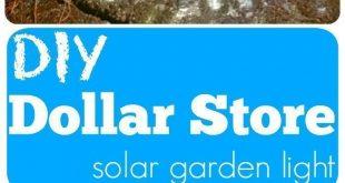 DIY solar garden globe light. DIY solar garden globe light you can make for less...