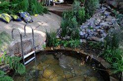 Naturstein-Whirlpool ist für uns eine kreative Inspiration. Mehr Foto von zu Hause … #home