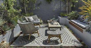 Private Small Garden Design – Entworfen und gebaut von The Garden Builders #c