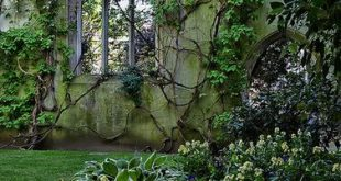St Dunstan in the East, London / UK (by Dave Feaster). (It's a beautiful world)