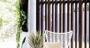 Wahnsinnig tolle und einfache DIY-Sichtschutzwände für Ihren Hof