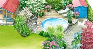 Wellness-Oase im Garten
