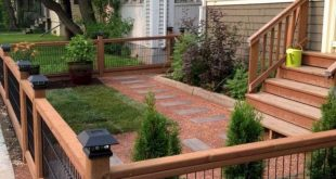 20 Awesome Way to Decor Your Backyard With Small Garden Fence Ideas