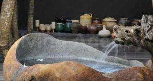 22 Natursteinbadewannen-Ideen für Ihr edles Badezimmer -
