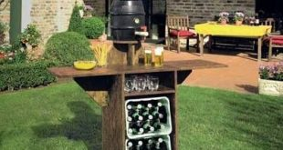 Bauplan: Gartenbar für die WM-Feier Project plans: Build your own garden bar for the world cup celebrations