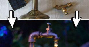 DIY Waterdrop Solarleuchten