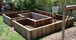 Here are some cool raised 12 beds garden ideas that gives you walking space to g...