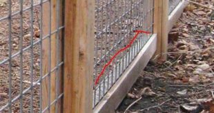 How to Build a Cattle Panel Fence aka Cattle Fence -