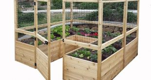 Outdoor Living Today 8 ft. x 8 ft. Garden in a Box with Deer Fencing-RB88DFO