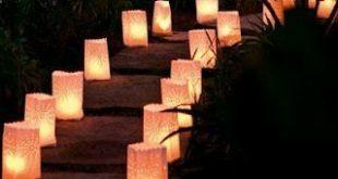 Romantische Gartenbeleuchtung - Gartenparty Sommerfest