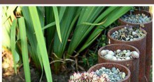 Rusted Metall DIY-Projekte, DIY-Projekte, Outdoor-DIY, popula ...