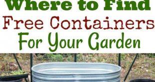 So finden Sie kostenlose Container für Ihren Garten - #Container #finden #für ...