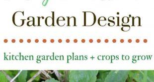 Was in einem Potager Garden + Küchengarten Design Pläne pflanzen