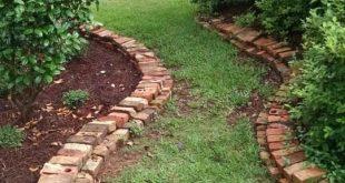 Wunderschönes Garten- und Bordüren-Design