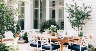 garten terrasse veranda balkon idee dekor pflanzen landhausstil landdesign – Balcony Konzept